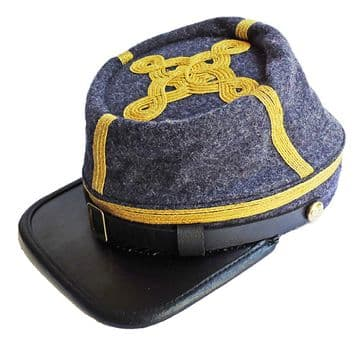 Confederate Richmond Gray General's Kepi