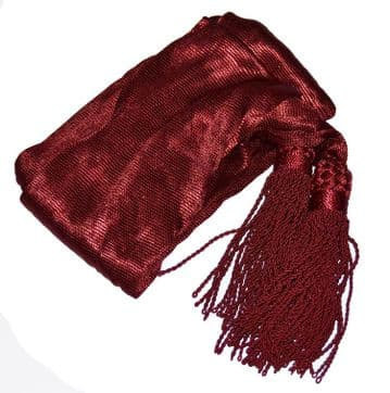 Officers Silk Crimson Sash