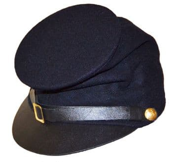 Union Blue Forage Cap With McDowell Peak