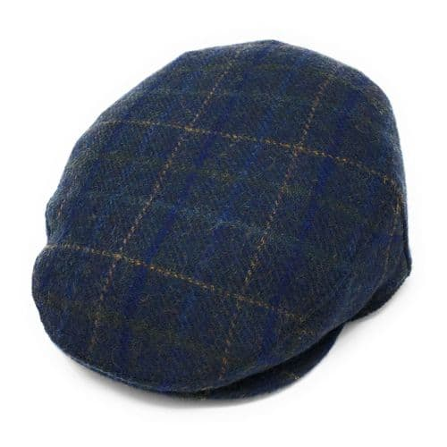Cheshire Wool  Tweed Flat Cap