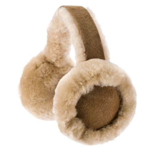 Genuine Sheepskin Earmuffs With Gift Box