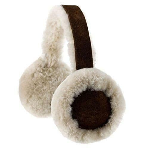 Genuine Sheepskin Earmuffs With Gift Box - Brushwood