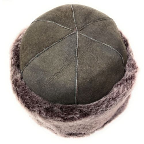 Ladies Sheepskin Panel Hat - Vizon Dunfield