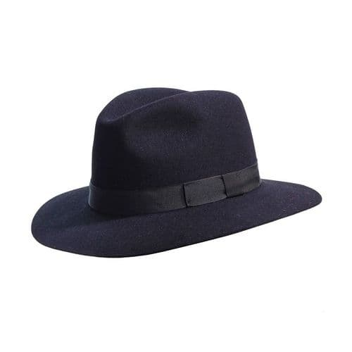 Laird Crushable Fur Felt Fedora Hat