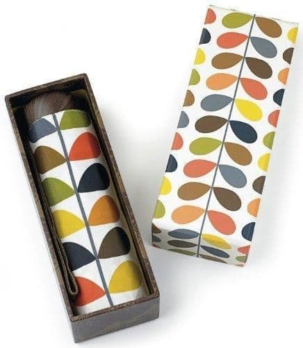 Orla Kiely Microslim Luxury Gift Box Multi Stem Ladies Umbrella