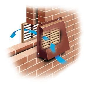 Air Brick or Extraction Fan Cover
