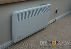 Ambient Air Convector / Panel Heater Electric 2kw - Wall Mounted
