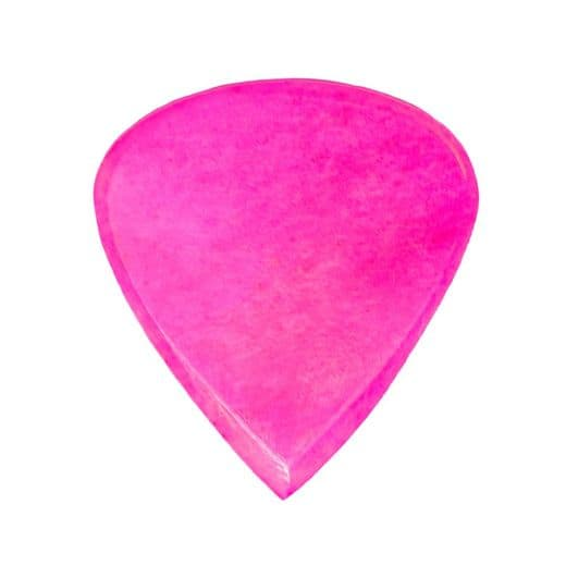 Jazzy Tones Pink Bone 1 Guitar Pick