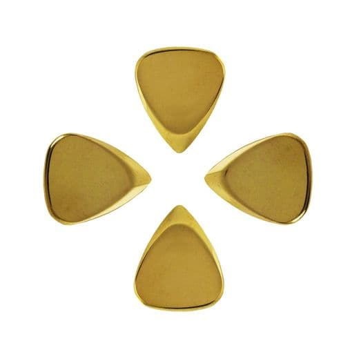 Metal Tones Mini Brass 4 Guitar Picks