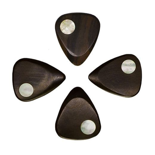 Planet Tones Gold Mother of Pearl 4 Guitar Picks