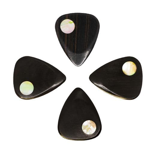 Planet Tones Greenlip Abalone 4 Guitar Picks