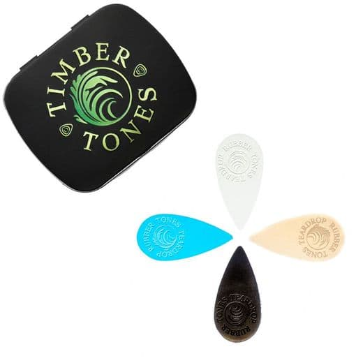 Rubber Tones Teardrop Mixed Tin of 4