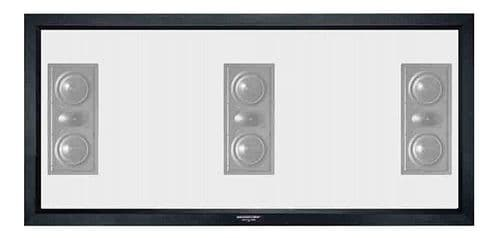 Grandview Cyber Series Fixed Frame Acoustic Transparent 2.35:1 Screen 117 inch (9ft Wide)