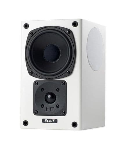 M&K S150T THX Certified Tri-Pole Surround Speaker (Pair) White