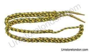 Aiguillette,Gold & Green, gold barral tage army, R189