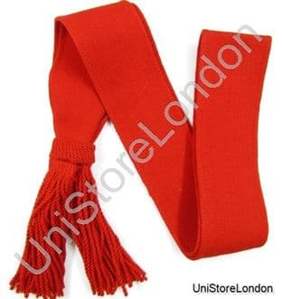 Army Sash Shoulder Red Wool Worsted Guards Sergeants Sash