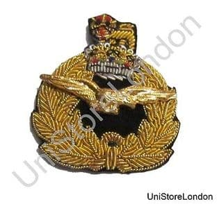 Badge Air Rank with Queen's Crown Beret Badge R1467