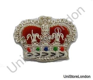 Badge Crown Queen's Crown Silver High Quality R735