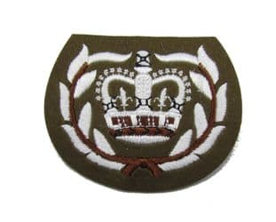 Badge FAD WO2 RQMS Crown Warrant Officer in Wreath Number 2 Dress R1620