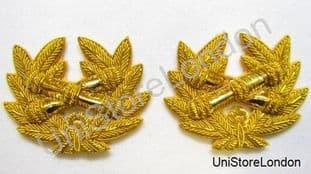 Badge Gold Wreath  Left & Right High Quality R1007