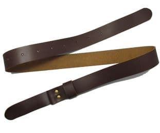 Belt Civil War Western Gun Belt Brown No Buckle R1644