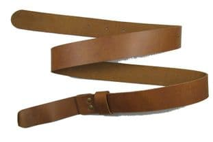 Belt Civil War Western Gun Belt Tan Brown No Buckle R1653