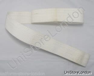 Belt Polypropylene Military Army Belt Utility Belt 2 1/4 Inch Wide White R1189