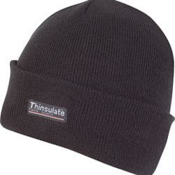 BOB HAT JACK PYKE THINSULATE LINED BLACK R555