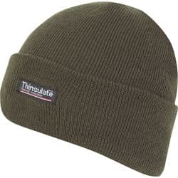 BOB HAT JACK PYKE THINSULATE LINED OLIVE GREEN R556