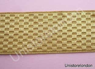 Braid Gold Basket  Mossonic lace 40mm R635