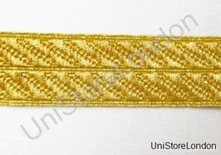 Braid Gold Mylar  Mossonic lace 28mm R938