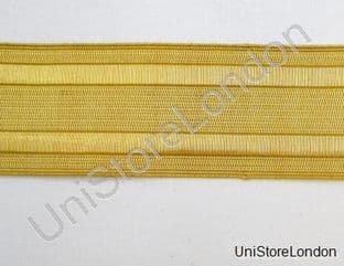 Braid Gold Wire 2 Vellum USA Navy 38mm Sold as Cut Piece 30CMS  R933