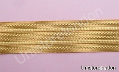 Braid Gold Wire Mossonic lace 25mm R638