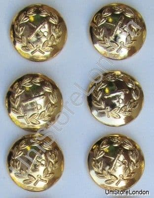 Button General Staff Military Army Gold 19mm  R750 Single