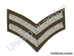 Chevron  Corporal  Stripes Future Army Dress FAD Military Rank 2 Bars R781