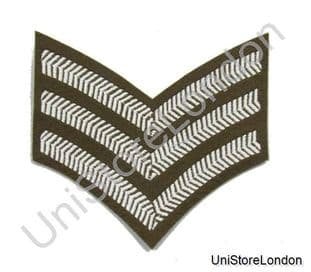 Chevron Sergeant Stripes Future Army Dress FAD Military Rank 3 Bars R802