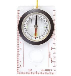 Compass Liquid filled Map Compass Hiking Walking R569