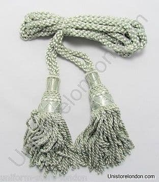 Cord Bagpipe Drone Cords Highland Silk Silver Military & Ceremonial  R1200