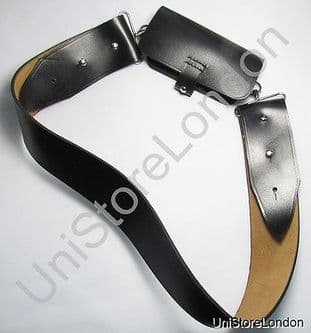 Cross Belt Matt Leather Chrome fitting R1500