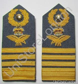 Epaulette  Air Chief Marshal of Air Force Shoulder Boards R1514