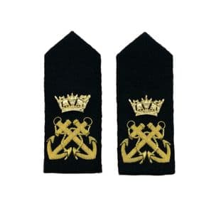 Epaulette Hard Curved Gold Bullion Wire Bosum