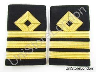 Epaulette Merchant Navy Chief officer Chief Mate Slip-on  Commander R867