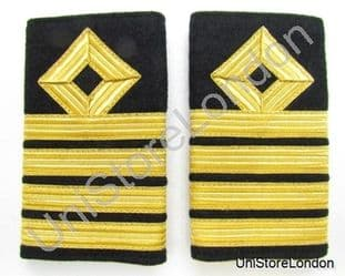Epaulette Merchant Navy Chief Slip On Captain R928
