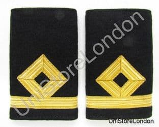 Epaulette Merchant Navy Third Officer - Third Mate Slip On  Sub Lieutenant SLt R931