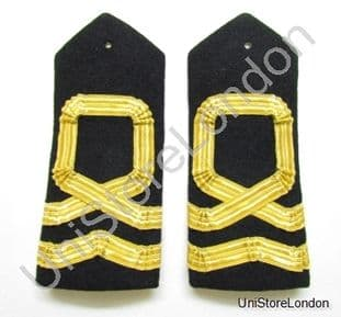 Epaulette Naval Curved Hard Square Curl For Lieutenant R958