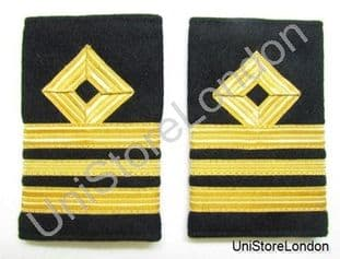 Epaulette Naval Merchant Navy Rank Marking For Lieutenant Commander Lt Cdr R929