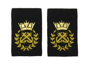 Epaulette Slip on Gold Bullion Wire Chief Bosum R1952