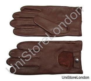 Gloves Leather Brown Gloves R1360