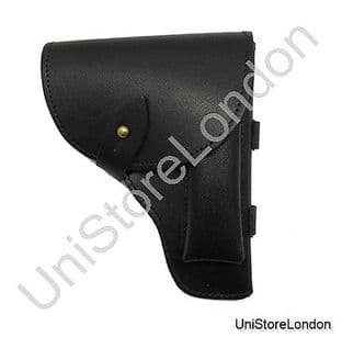 Holster Black Leather Fit Over 2 1/4 inch wide Belt R1367
