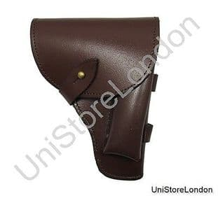 Holster Brown Leather Fitt over 2 1/4 inch wide Belt R1366